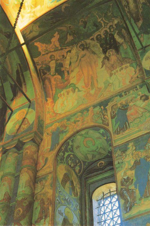 Rostov Veliky. Church of the Resurrection. Frescoes, 1670s