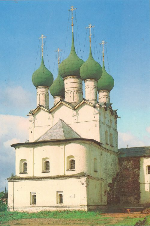 Rostov Veliky. Church of Gregory the Theologian, 1670
