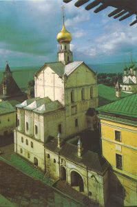 Church of the Savior on Senyakh, 1675