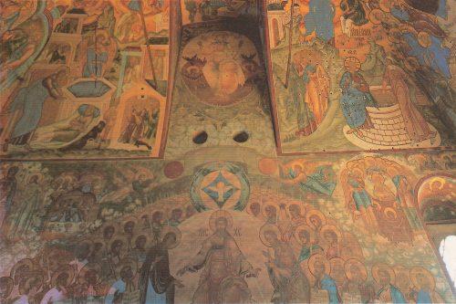 Church of the Savior on Senyakh. Frescoes, 1675
