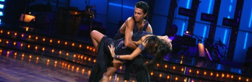 In the show dancing with the stars