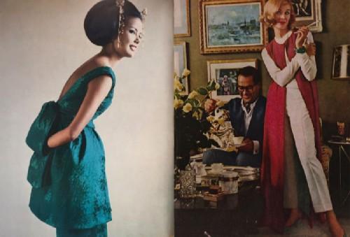 Russian princess Irina Golitsyna dictated Italian fashion