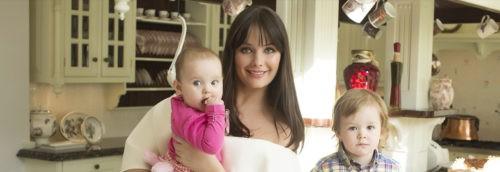 Oksana has two children