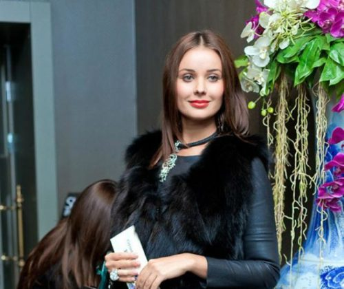 New page of Oksana Fedorova's biography-fashion designer