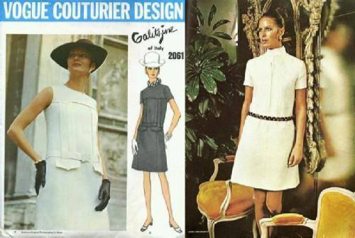 Advertising of the models of the fashion house Irene Golitsyna.