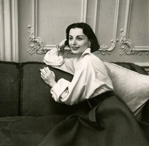 Fashion designer Irene Galitzine, or Russian princess Irina Golitsyna (1918-2006)