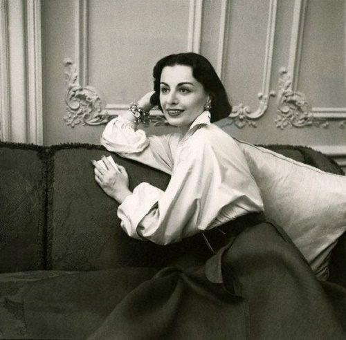 Fashion designer Irene Galitzine, or Russian princess Irina Golitsyna (1918-2006)