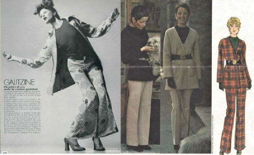 Golitsyna taught women to wear pantsuits.