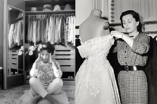 Irene Golitsyna at home and at work.