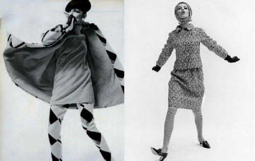 Irene Golitsyna is one of the fashion creators of the 60s.