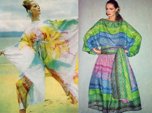 Motives of the hippie style in the works of Golitsyna.