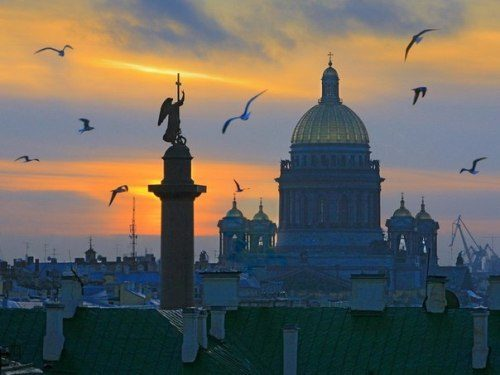 Night view. Saint Petersburg White Nights