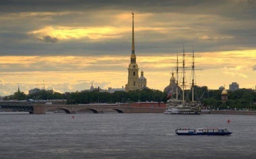 Stunning White Nights in St. Petersburg