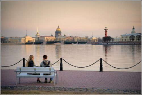The Neva. White Nights in St. Petersburg