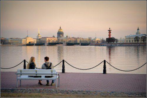 The Neva. White Nights in St. Petersburg