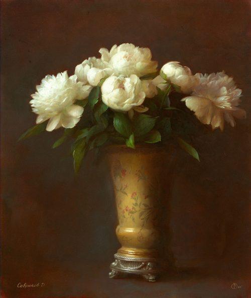 Painting by Russian artist Dmitry Sevryukov