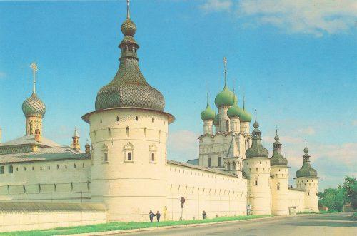 Western facade of the Kremlin, 16-17 centuries