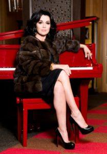 Russian actress Anastasia Zavorotnyuk