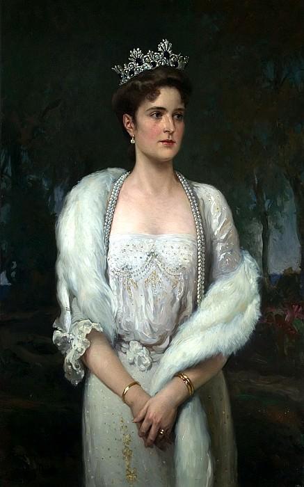 Alexander Makovsky. Portrait of the Empress Alexandra Feodorovna. 1914