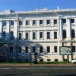 View of the Anichkov Palace from Nevsky Prospekt