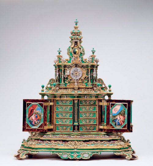 A cabinet with a clock from the Hermitage collection. Photo by Alexander Koksharov State Hermitage Museum, 2021
