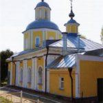 Holy cross Church in the suburbs, the village Tatarintsevo