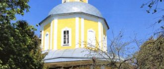 Holy cross Church in the village Tatarintsevo