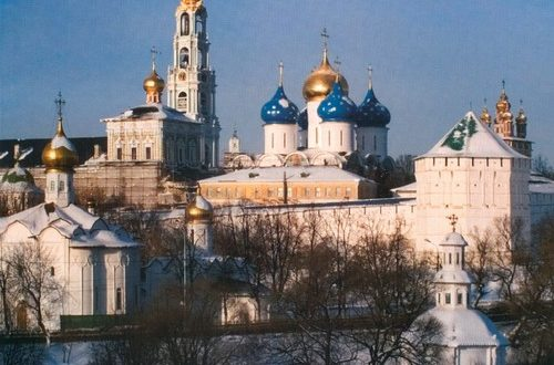 Holy Trinity St. Sergius Lavra in Sergiev Posad