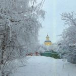 Holy cross Church in the village Tatarintsevo