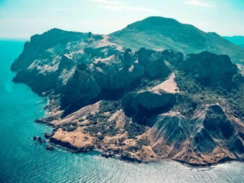 Kara Dag Mountain in Crimea