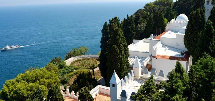 Kichkine Palace on the southern coast of Crimea in Yalta