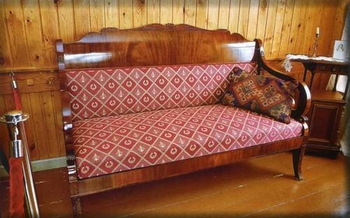 Sofa in the office of Alexander Blok
