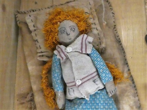 A doll made in a concentration camp