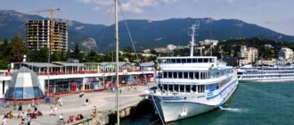 Resort and port on the southern coast of Crimea Yalta