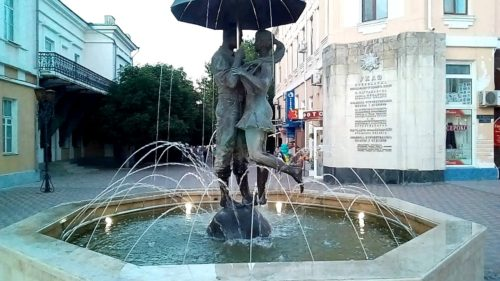 Russian fountains