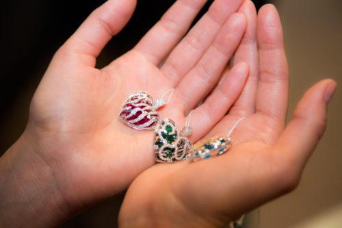 Heart pendants from Kostantin Kryukov