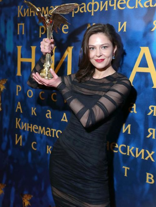 Elena Lyadova at the Academy Awards