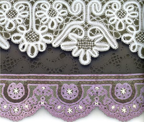 Lace edge, Vologda province. End of the 19th century