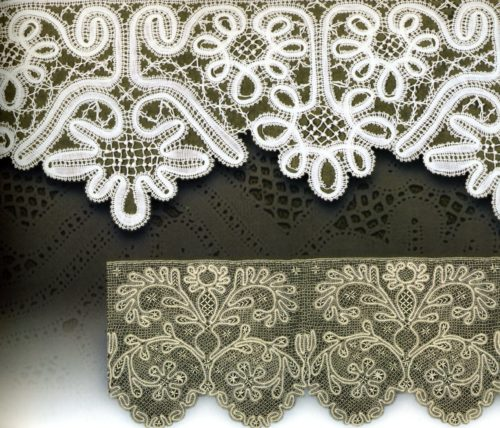 Edge of lace, early 19th century, Vologda province