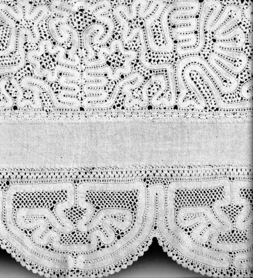Valance. 1840s, Vologda province. Kadnikovsky district, Borok village
