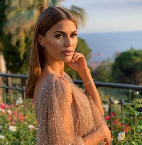 Russian celebrity Victoria Bonya