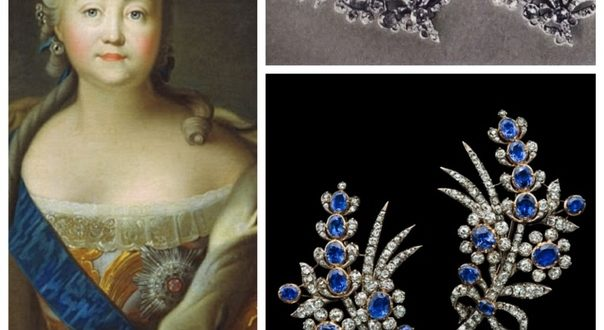 The Empress Elizabeth Petrovna was very fond of jewelry and was always happy with new jewelry. Especially beautiful is her collection of unique handmade jewelry boxes. And her wardrobe consisted of many dresses, embroidered with gold and silver. After her death, more than 15 thousand variants of luxurious outfits were found in the wardrobe.