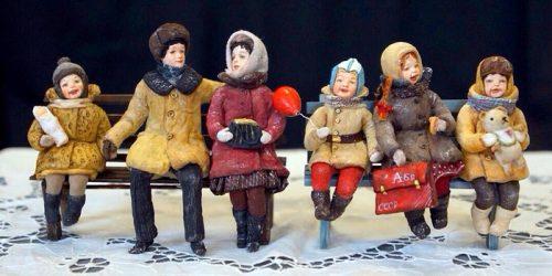 Wadded dolls