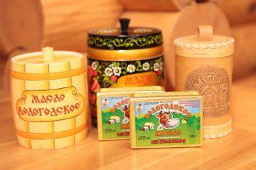 Vologda butter. Vereshchagin plant