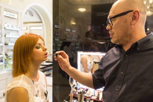 Russian make-up artists
