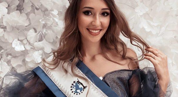 "Daria Kremenetskaya will represent Russia at the ""Miss Earth"""