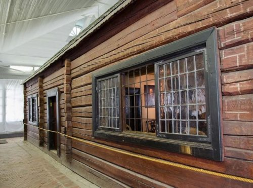 Wooden house of Peter the Great