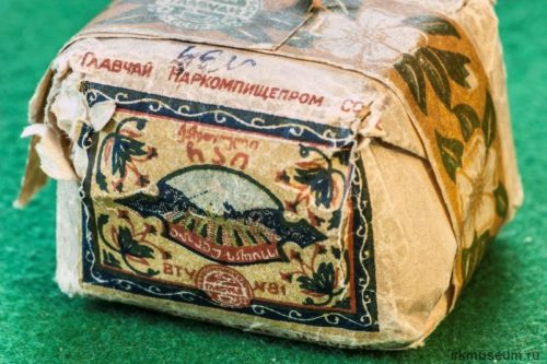 History of the Irkutsk tea-packing factory, tea exhibit