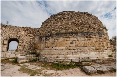 Crimean Zeno Tower in ancient Chersonesos