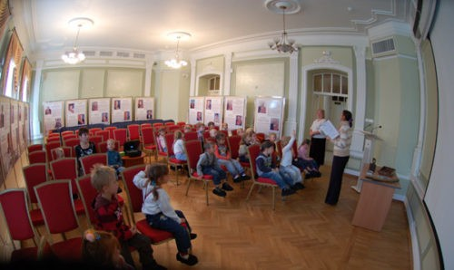 Lecture at the museum